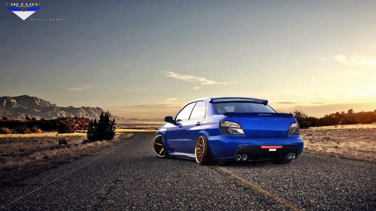 virtual tuning photoshop subaru impreza wrx youtube. Black Bedroom Furniture Sets. Home Design Ideas