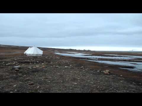 Svalbard Airport Longyear and Longyearbyen Camping