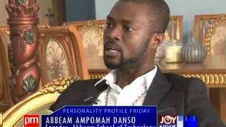 Abbeam Ampomah Danso - Personality Profile Friday on Joy News (24-1-14)