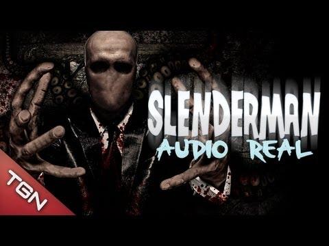 """SLENDERMAN - """"AUDIO REAL 1989"""""""