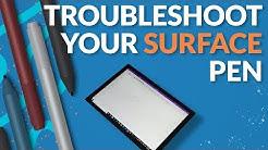 Troubleshoot your Surface pen
