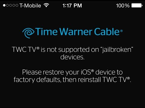 HOW TO BYPASS TIME WARNER CABLE JAILBREAK DETECTION