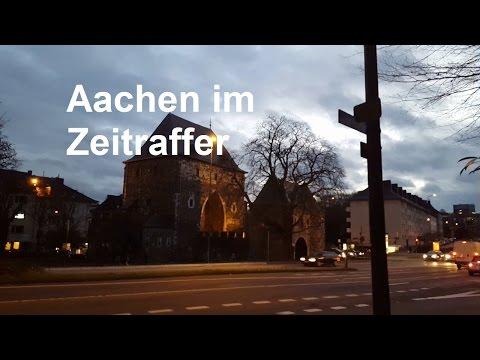 AACHEN im Zeitraffer!Aachener Sehenswürdigkeiten