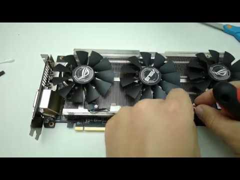 Asus Rog Strix RX480 O8G cleaning (Tisztitás)