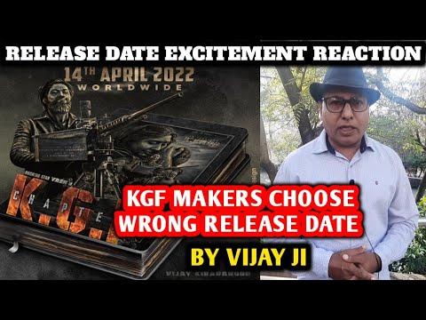 Download KGF Chapter 2 Release Date Reaction | Excitement By Vijay Ji | Yash, Prashanth, Raveena T, Srinidhi