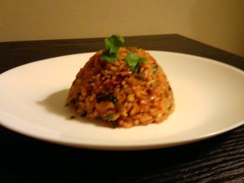 Best Restaurant Style Mexican Vegan Rice