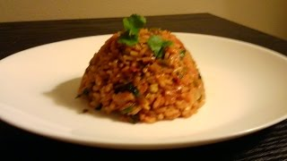 Best Restaurant Style Mexican Rice  Vegan  Episode 20