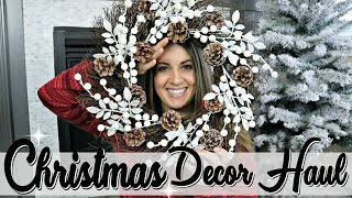 HUGE CHRISTMAS DECOR HAUL 2018 :: CHRISTMAS DECORATIONS IDEAS :: ThisCrazyLife