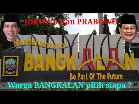 #Pemilu2019 #Pilpres2019 Warga MADURA Pilih Jokowi Atau Prabowo
