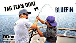 Bluefin Tuna Fishing San Diego  - Using $1000 REEL (Shimano Stella SW)