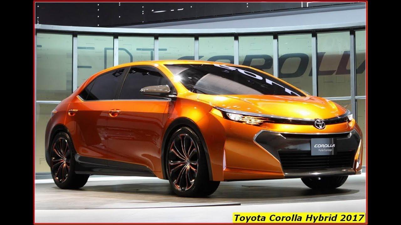 Toyota Corolla Hybrid 2017