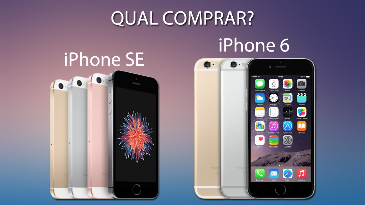 IPHONE SE VS IPHONE 6 PRICE