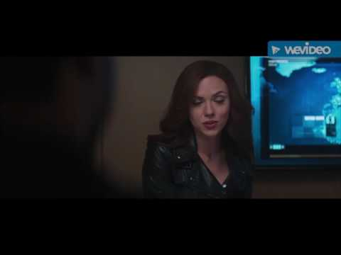 "Captain America Civil War deleted scene ""black panther black widow"""
