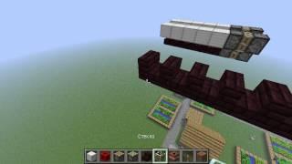 самолет без модов в Minecraft