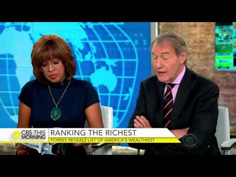 Forbes 400 reveals list of America's richest people