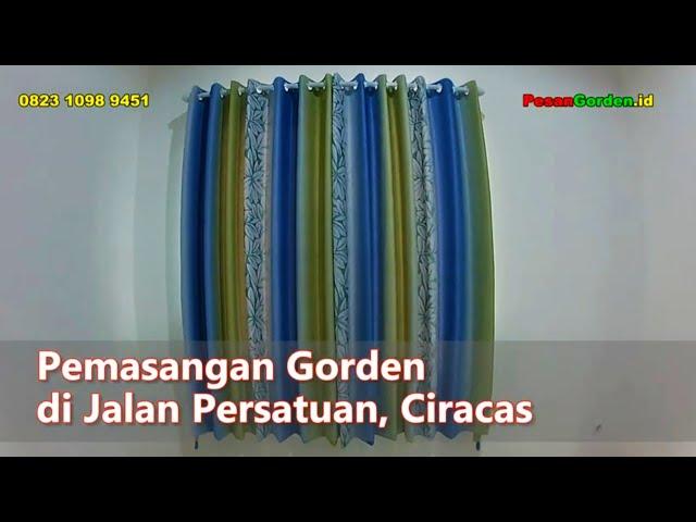 Pasang Gorden Ciracas  Di Persatuan 082310989451 #gudanggorden #gorden
