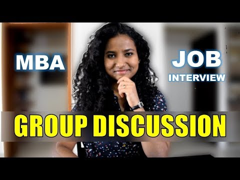 How To Prepare For Group Discussions   GD Topics With Answers   Job Interview   MBA