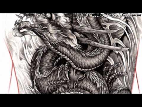 TATTOO FLASH DRAGON PENCIL by artist: Hung_KTS( tattoo viet nam)