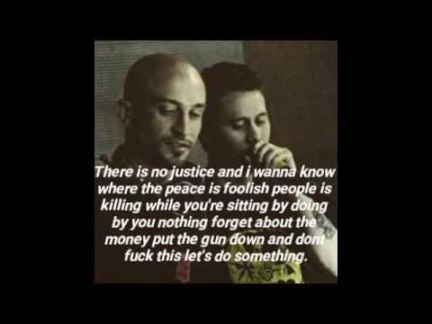 Canserbero Feat Kpu - No Justice. (Letra).