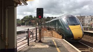 800系日立GWR都市間高速列車1x9と2x5、Dawlish Englandで2019/04/28