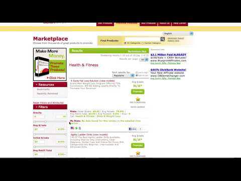 Step By Step Guide to ClickBank's New Marketplace Features