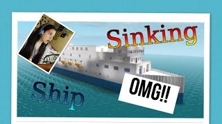ROBLOX#23 THE SINKING SHIP!!!! -Vic