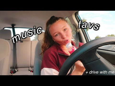aesthetic music playlist + drive with me 2018