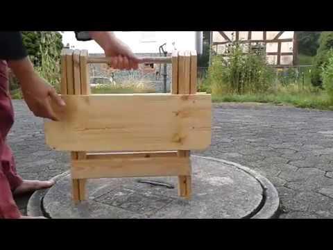 Outdoorküche Klappbar Norden : Klapptisch in kurz youtube