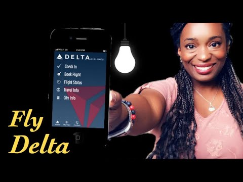 HOW TO  CHECK IN | DELTA TRAVEL APP|Review