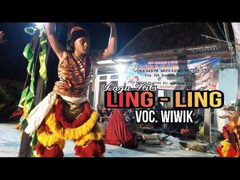 Pegon Lagu LING LING Voc. WIWIK Jaranan SATRIA BARU JAYA Live Balongmojo Gedong Ombo Ploso