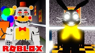 Becoming Rockstar Molten Freddy and Shadow Glitchtrap in Roblox Nights At Spring Freddys Diner
