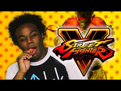 Street Fighter V - Hot Pepper Game Review ft. Austin Creed (WWE Super Star Xavier Woods)