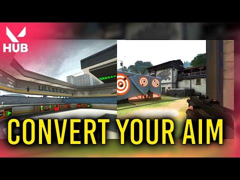 How to Convert CSGO Aim to Valorant Aim