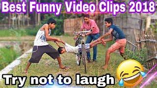 Best Funny Videos_Very Comedy Videos_Funny Video Clips 2018_Tripura Funny Studio