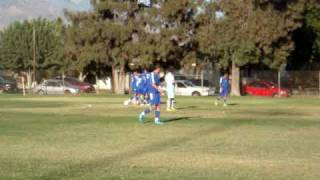 San Bernardino Valley College Boys Soccer Team vs Cuyamaca