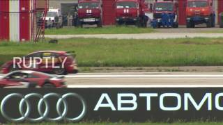 Russia The Race You Always Wanted Watch Formula 3 Racer Take On MIG Fighter Jet