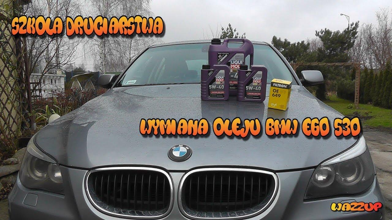 Szkoła Druciarstwa Wymiana Oleju Januszowym Sposobem BMW E60 530i Wazzup :)