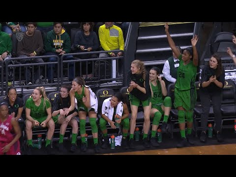 Recap: No. 10 Oregon women\'s basketball flies past Oklahoma in PK80 Invitational