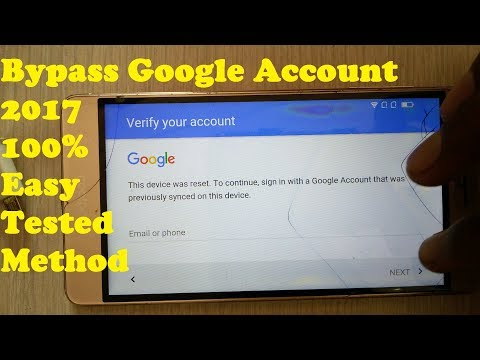 BYPASS GOOGLE ACCOUNT For Android 100% Easy Solution/FRP LOC