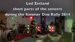 Led Zetland at Simmer Dim 2014