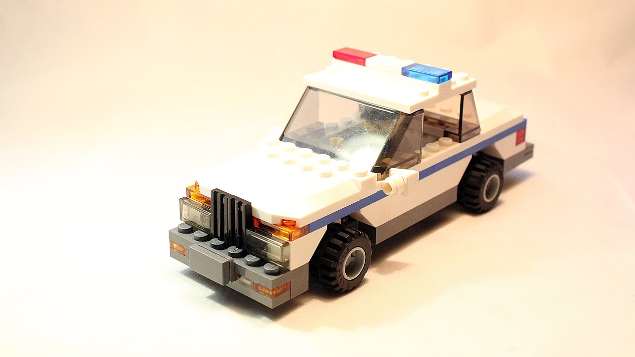 Custom Lego City Police Car Building Instructions Moc Download Lego