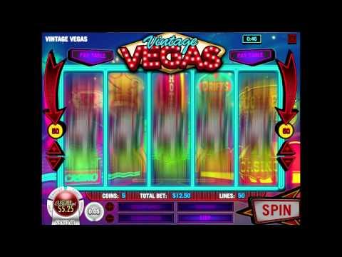 Vintage Vegas / Rival Software / 50-Line Slot