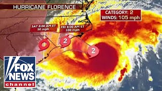 Live: Tracking Hurricane Florence 2018