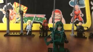 Минифигурки Аналог Лего по сериалу Зеленая Стрела CW analog lego Green Arrow