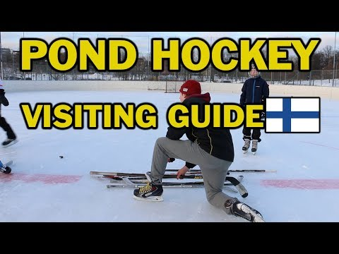 Guide for ALL hockey players to visiting Helsinki, Finland for Pond hockey