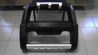 Обзор на Травмобезопасный кенгурятник для Toyota LC 100