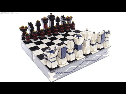 LEGO Iconic Chess set review! 40174