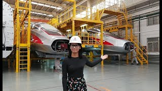 LIVE: How China's high-speed trains are assembled?