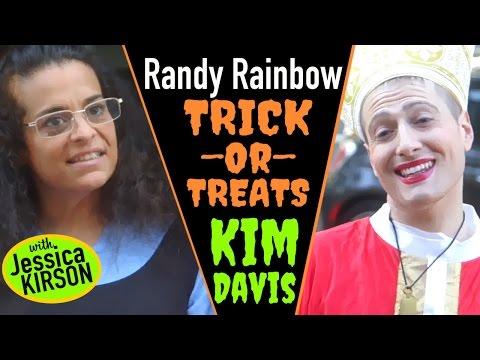 Randy Rainbow Trick-or-Treats Kim Davis