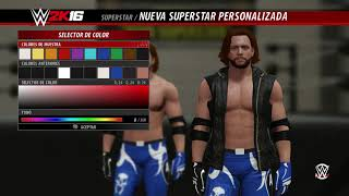 كيف تجعل Aj Styles WWE 2K16